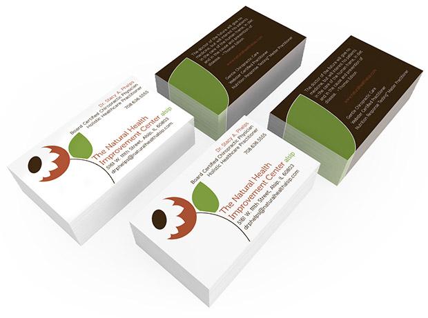Business Cards Natural Health Improvement Center