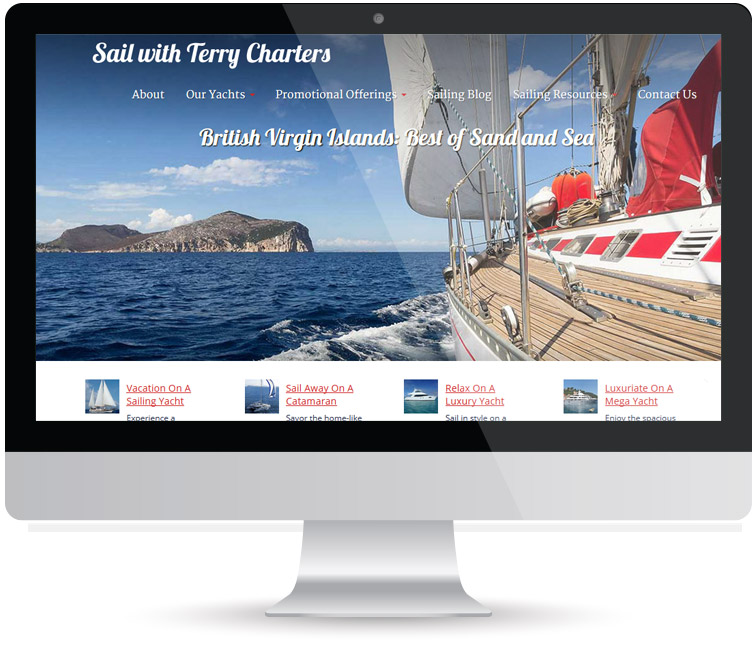 Monitor Sail with Terry